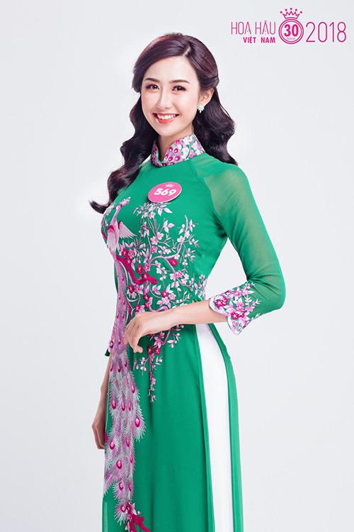 Vẻ đẹp của Ngọc Linh tại Hoa hậu Việt Nam 2018 - 2