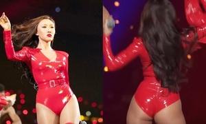 Trang phục của Hwasa (Mamamoo) khiến netizen tranh cãi: Sexy hay phản cảm?