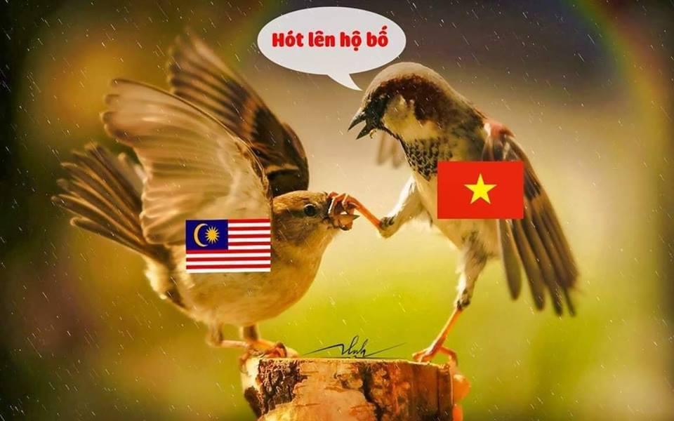 <p>Malaysia đã phải chấp nhận thua trước Việt Nam.</p>