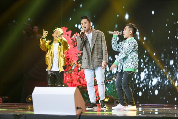 Bộ đôi Anh Khôi - Văn Minh (team Anh - Hưng) có màn kết hợp đặc biệt cùng ca nhạc sĩ Phan Mạnh Quỳnh qua sáng tác mới Nắng mùa hạ.