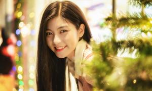 Miss Teen Nam Phương ngọt ngào đón Giáng sinh