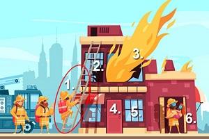 Trắc nghiệm: Bức tranh hỏa hoạn tiết lộ cách bạn đối mặt với khủng hoảng - 1