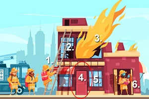 Trắc nghiệm: Bức tranh hỏa hoạn tiết lộ cách bạn đối mặt với khủng hoảng - 4
