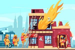 Trắc nghiệm: Bức tranh hỏa hoạn tiết lộ cách bạn đối mặt với khủng hoảng - 6
