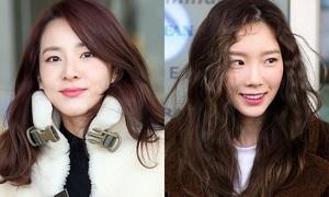 Dara khoe style 'dị', đọ nhan sắc 'ma cà rồng' cùng Tae Yeon