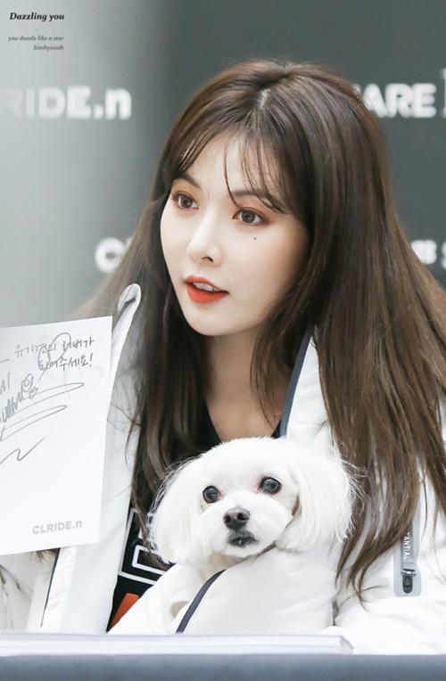 Hyun Ah cần tăng cân, lấy lại đôi má phúng phính tràn đầy sức sống trước đây và thoát hỏi hình ảnh gầy gò trơ xương đáng báo động hiện tại.