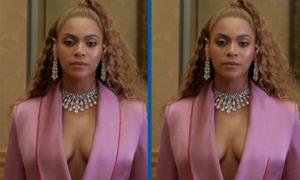 Tinh mắt soi Beyoncé có gì khác lạ?