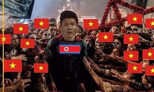 Ảnh chế ''cảm ơn người anh em'' Triều Tiên