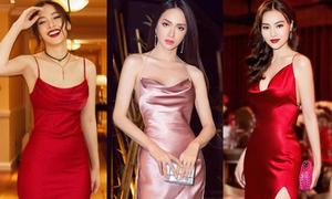 Những mỹ nhân 'không lộ chút mỡ thừa' dù diện váy bóng siêu kén dáng