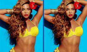 Tinh mắt soi Beyoncé có gì khác lạ? (2)