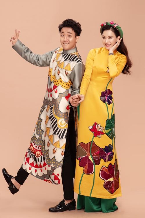 Sau một năm hoạt động nghệ thuật chăm chỉ, nhân dịp kỉ niệm tuổi 32, Trấn Thành quyết định thực hiện bộ ảnh đón Xuân 2019 cùng với bà xã Hari Won.