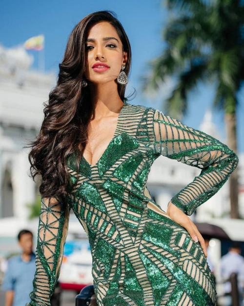 Vượt qua 440 hoa hậu đến từ 5 cuộc thi sắc đẹp danh giá nhất trên thế giới là Miss Universe, Miss World, Miss Grand International, Miss International và Miss Supranational, Meenakshi Chaudhary - Á hậu 1 Hoa hậu Hòa bình Quốc tế - được vinh danh ở giải thưởng Hoa hậu của các hoa hậu năm 2018 do chuyên trang sắc đẹp Global Beauties bình chọn.