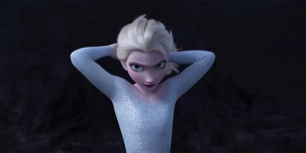 Elsa cột cao tóc, chuẩn bị giáp lá cà với cơn sóng dữ.