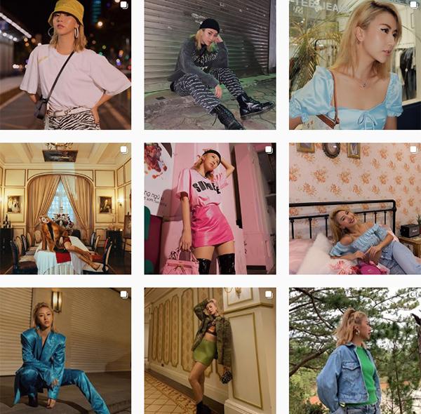 2 triệu người theo dõi trên Instagram là con số trong mơ ngay cả với các ngôi sao. Quỳnh Anh Shyn dù không tham gia hoạt động nghệ thuật nhưng vẫn gặt hái được số followers khủng này nhờ gu thời trang đẹp miễn chê. Là IT Girl hàng đầu hiện nay, Quỳnh Anh Shyn luôn dẫn đầu xu hướng, mang đến những set đồ ngập tràn cảm hứng, chất chơi không kém các fashion icon phương Tây.