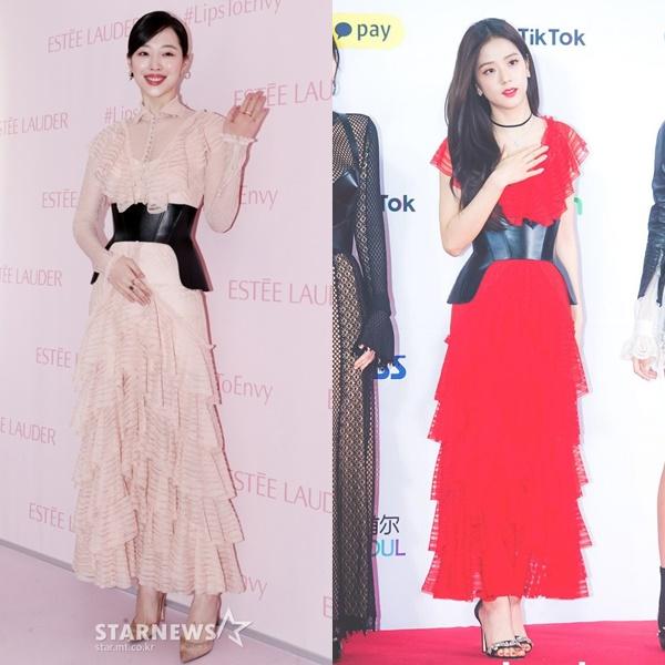 Một phong cách hai số phận: Ji Soo được khen, Sulli bị chê già như bà thím - 3