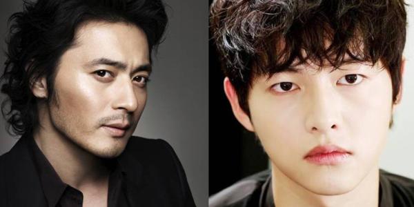 Jang Dong Gun vàSong Joong Ki.