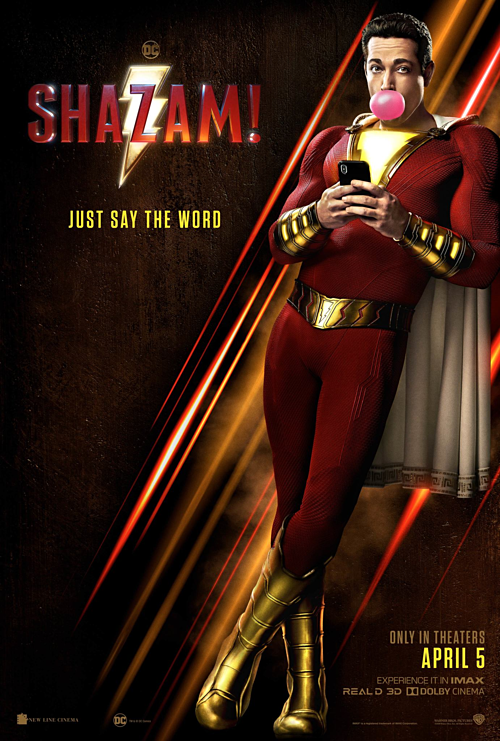 Poster phim Shazam!.