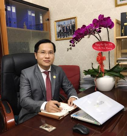 Luật sư Nguyễn Ngô Quang Nhật.