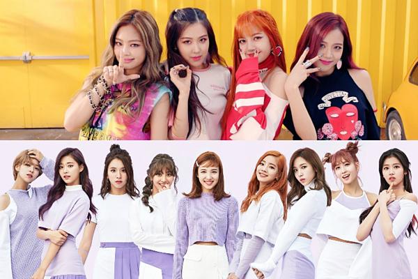 Black Pink và Twice đang là hai girlgroup hàng đầu Kpop.
