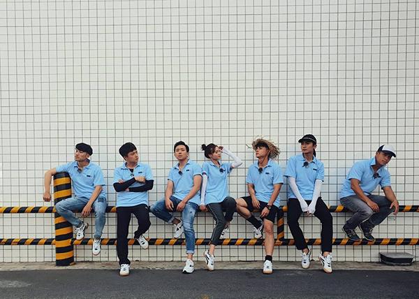 Dàn nghệ sĩ Running Man Việt Nam nhá hàng bằng bộ ảnh diện chung dress code.