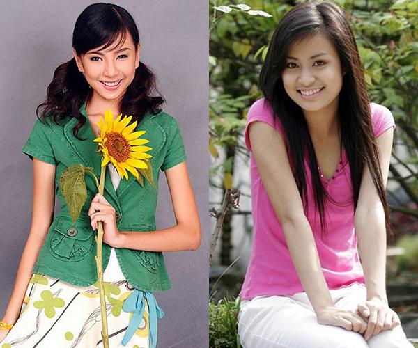 Khi làn da trắng chưa trở thành chuẩn mực vẻ đẹp, các hot girl Việt thời kỳ đầu vẫn trung thành với da ngăm tự nhiên. Đây cũng là nét đặc trưng tạo nên vẻ đẹp khỏe khoắn cho các cô gái hơn chục năm trước.