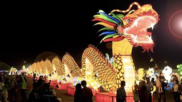 Những mô hình đèn lồng khổng lồ từng xuất hiện tại Lễ hội ánh sáng.
