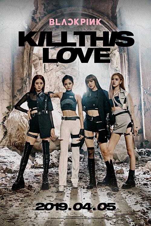 Teaser 4 thành viên cho single Kill this love.