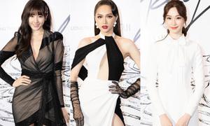 Dàn mỹ nhân Việt diện hai màu đen trắng đọ sắc ở show thời trang