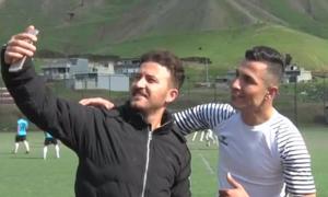 Chàng thợ xây Iraq gây chú ý vì giống siêu sao Ronaldo