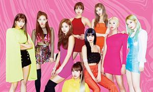Sản phẩm comeback của Twice: Thiết kế poster 'rẻ tiền' nhưng váy áo đắt đỏ