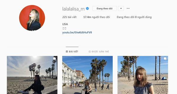 Lisa vượt mặt mọi idol, trở thành Nữ hoàng Instagram