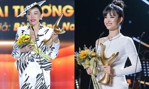Đông Nhi bật khóc, Tóc Tiên sung sướng nhận giải 'Cống Hiến'