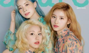 Twice khoe thần thái trên tạp chí sau khi bị JYP 'dìm'