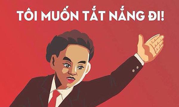Ảnh chế ''thay lời muốn nói'' cho mùa nắng ở Sài Gòn