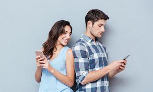 Nhận dạng cách nhắn tin để biết chàng đang thích bạn