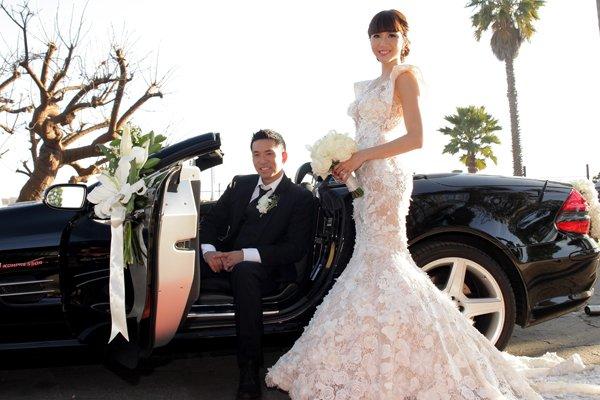 Đầu năm 2014, Ngọc Quyên bất ngờ lên xe hoa cùng chú rể Việt kiều. Trong đám cưới của mình, Ngọc Quyên xuất hiện lộng lẫ