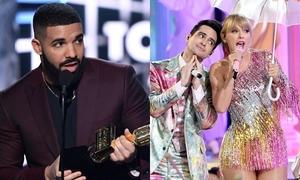 Drake thắng lớn, Ariana đánh bại Taylor tại BBMAs 2019