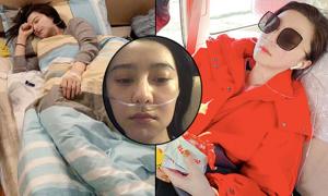 Đăng ảnh bị ốm nặng khi đi từ thiện, Phạm Băng Băng bị chê 'làm màu'