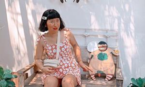 1001 biểu cảm 'siêu lầy' của Trang Hý khi đi du lịch