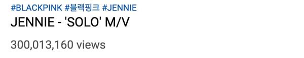 MV SOLO của Jennie lập kỷ lục khủng sau 6 tháng phát hành.