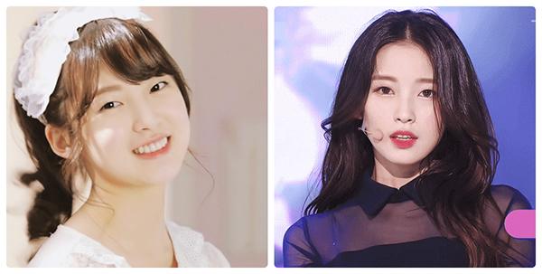 Một idol sinh năm 1999 khác cũng khiến công chúng chú ý vì sự thay đổi trong 4 năm hoạt động. Từ một cô nàng có má bánh bao đáng yêu, Arin ngày càng xinh đẹp, có thần thái tình đầu giống Suzy.