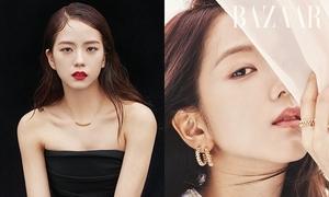 Ji Soo được gọi là 'Hoa hậu Hàn Quốc' sau bộ ảnh tạp chí