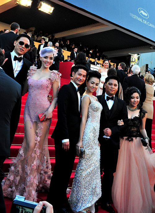 Tina Tình, Kathy Uyên, Trang Nhung, Ngọc Diệp và Lê Khánh được chọn đi tham dự LHP Cannes 2012.