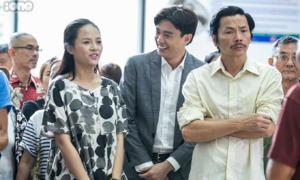 Theo chân Thu Quỳnh vào phim trường 'Về nhà đi con'
