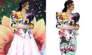 Fan làm stylist chữa cháy bộ đồ mix 'sai quá sai' của Đông Nhi