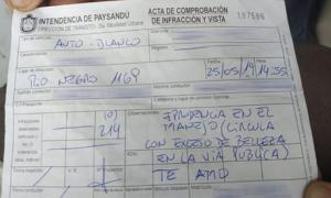 Cái kết dành cho chàng cảnh sát giao thông 'tán tỉnh' nữ tài xế
