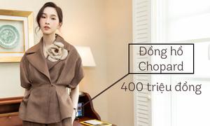 Set đồ dạo phố giá gần 1 tỷ đồng của Hoa hậu Thu Thảo