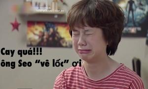 Biểu cảm của Ánh Dương trong 'Về nhà đi con' được chế ảnh rầm rộ