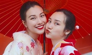 Em gái xinh xắn của diễn viên Hoàng Oanh