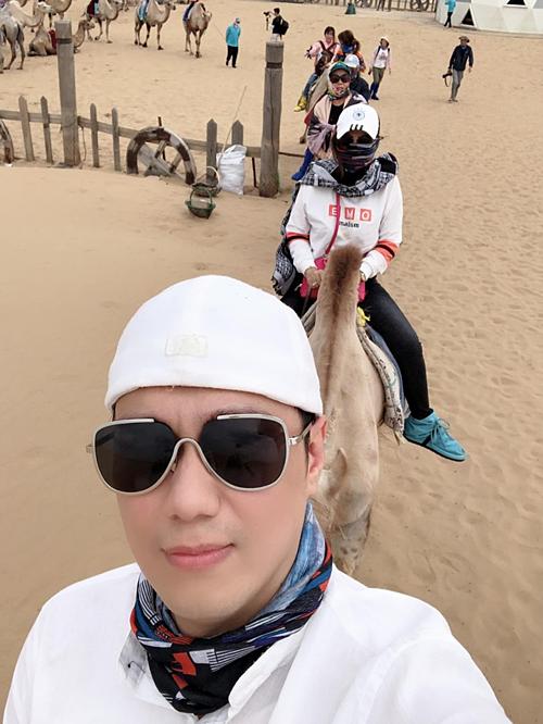 Việt Anh du lịch Nội Mông, Trung Quốc.